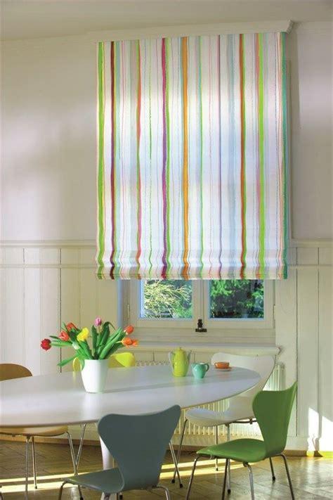 Sichtschutz Fenster Textil by Moderne Rollos Textilien Fenster Streifen Muster