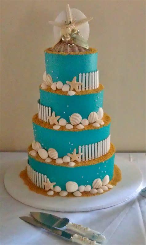 themed cakes beach themed wedding cake cakecentral com