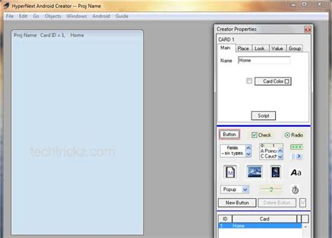 maker for android create your own android app with hypernext android creator