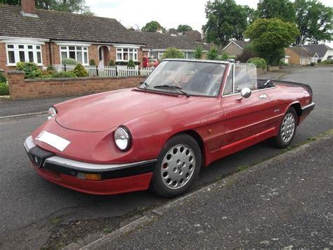 1987 Alfa Romeo Spider by 1987 Alfa Romeo Spider S3 In Eaton Socon Cambridgeshire