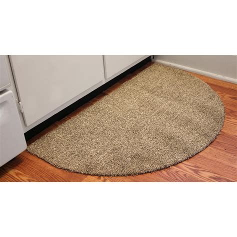 Half Circle Doormat by Bungalow Flooring 174 Dirtstopper 24x39 Quot Half