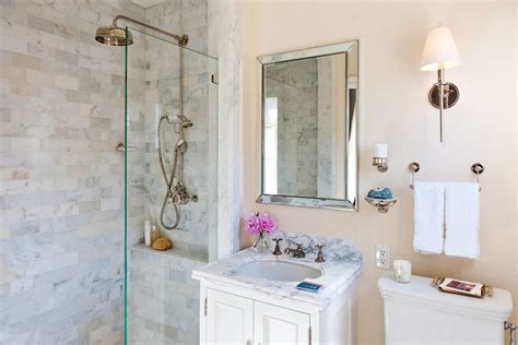 small showers for bathroom transitional with marble shower