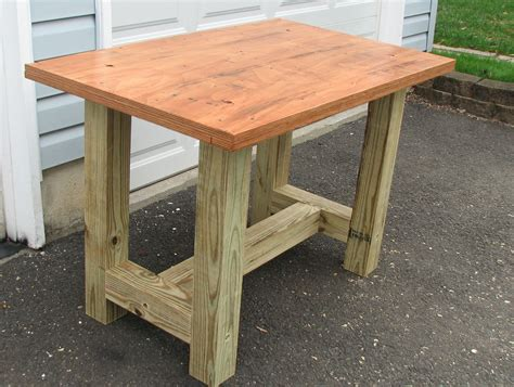 build  beefy work table    woodworking