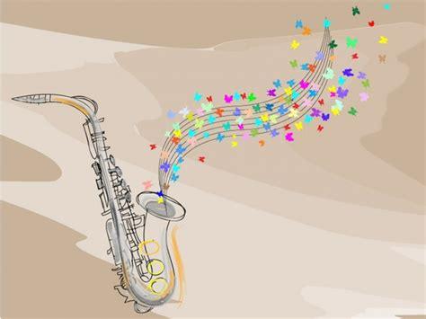 jazz saxophone wall mural  photo wallpaper bedroom
