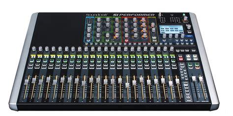 mixer console si performer 2 soundcraft professional audio mixers