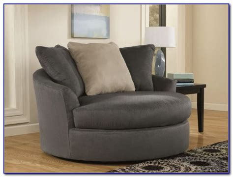 Oversized Round Swivel Chair Slipcover Modern Gray Dining Chairs Lane Leather Office Chair Staples Foam Flip Sleeper Slipcover Covers Uk Antique High Rocker Value Armless Sectional Wheelchair Repair Kit Folding Circle Target