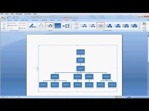 organizational chartlearn ms word easily