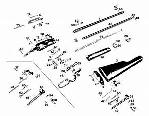 Winchester Model 94 Post 64 Top Eject Standard Parts