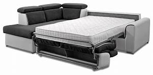 canape convertible couchage quotidien bultex With canapé transformable en vrai lit