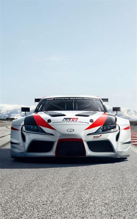 2020 Toyota Supra Phone Wallpaper by Toyota Gr Supra Racing Concept Free 4k Ultra