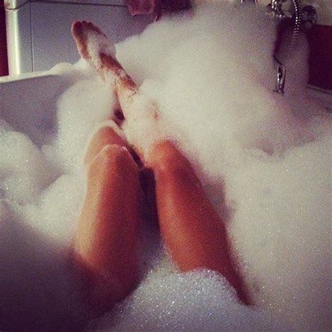 i seeing pretty rising from the bath tub and a bath adds some pretty
