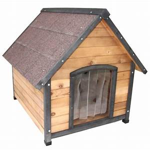 Large wooden dog kennel house indoor outdoor puppy pet for Zero dog house
