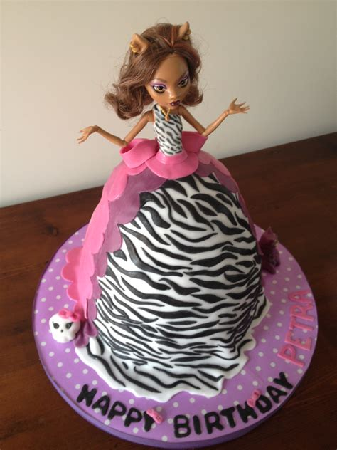 claudine high cake ideas 25858 clawdeen hi