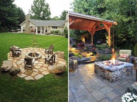 outdoor fire pit ideas    ultimate backyard