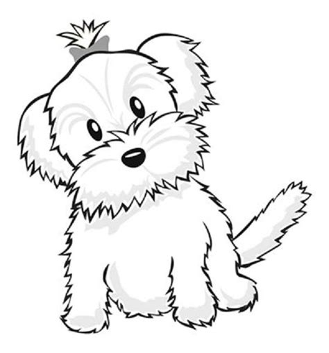 cool coloring pages  cute puppies