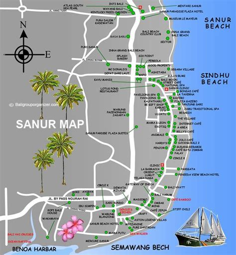 sanur village map bali beautiful bali   bali