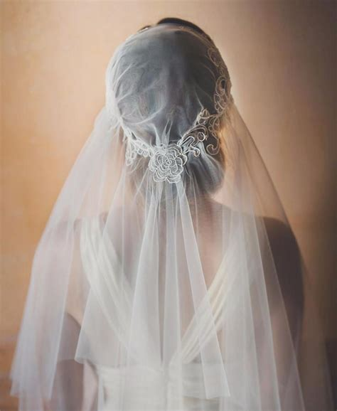 Wedding Juliet Cap Lace Veil Bridal Cathedral Veil