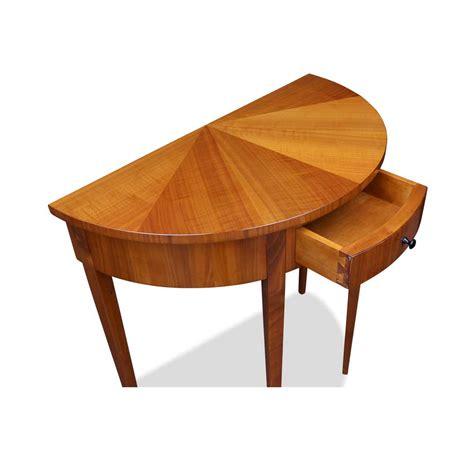 Tisch Schublade by Demi Lune Tisch Kirschbaum Mit Schublade