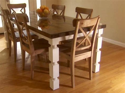 how to build a dining room table with how to make a dining room table bombadeagua me