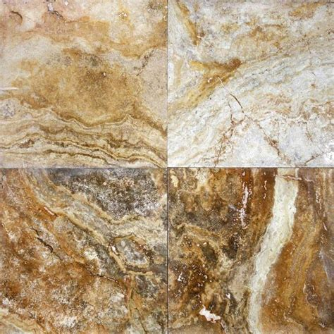 18 x 18 polished scabos travertine tile deko tile