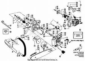Poulan Micro Xxv Gas Saw Parts Diagram For Handle  Chain