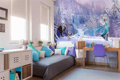 Kinderzimmer Mädchen Tapete by Disney Elsa Frozen Forest Winter Land Fototapete