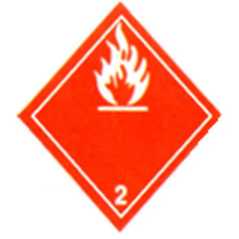 gaz inflammable 201 tiquette autocollant 4 po x 4 po rlx de 500