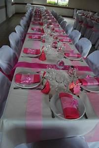 Deco Table Bapteme Fille : d coration de salle bapteme fille p 39 tite chiffonni re ~ Preciouscoupons.com Idées de Décoration