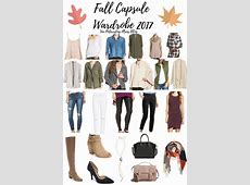 Fall Capsule Wardrobe 2017 from Nordstrom Pinteresting Plans
