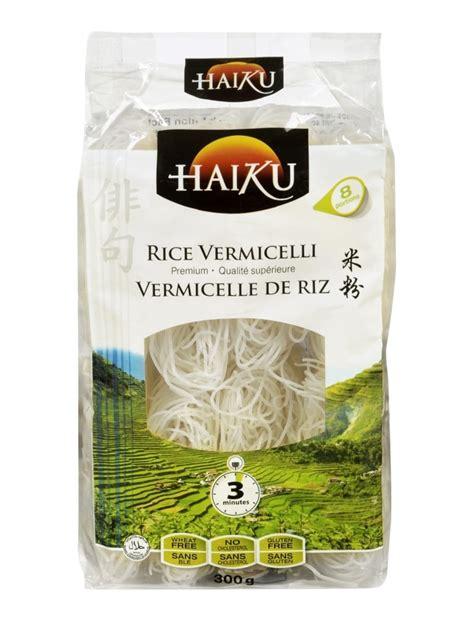 cuisine vietnamienne pho vermicelles de riz portions individuelles haiku