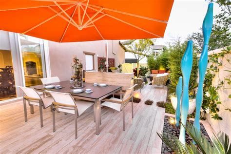 easy way to make a patio 15 easy ways to create shade for your deck or patio diy