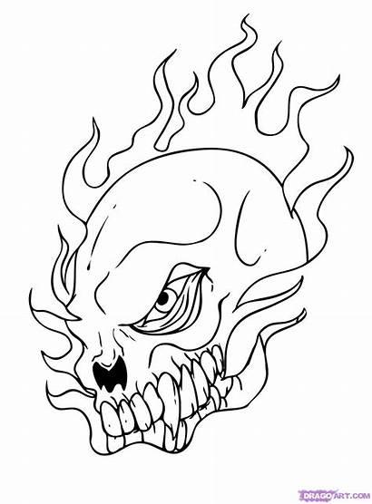 Cool Draw Step Skull Cartoons