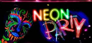 Neon Party is een sensationeel UV actief feest door