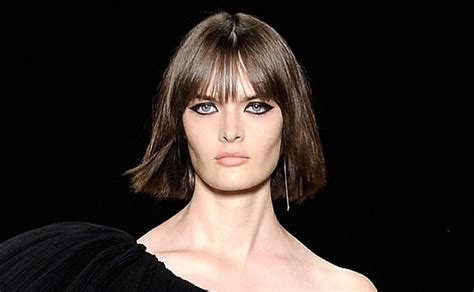 Short Bob Hairstyles Blunt Bangs For Long Faces Fine Hair