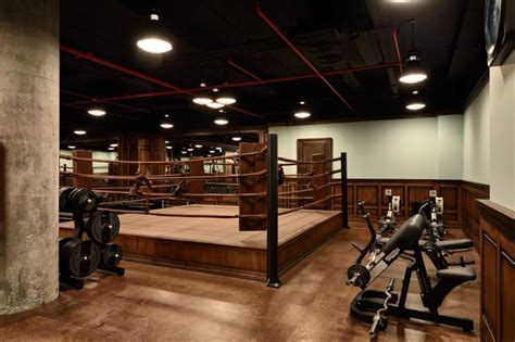 gym   boxing ring soho house istanbul review