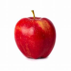 Pomme Rouge Deco : sticker mural pomme rouge univers fruits pour cuisine etiquette autocollant ~ Teatrodelosmanantiales.com Idées de Décoration