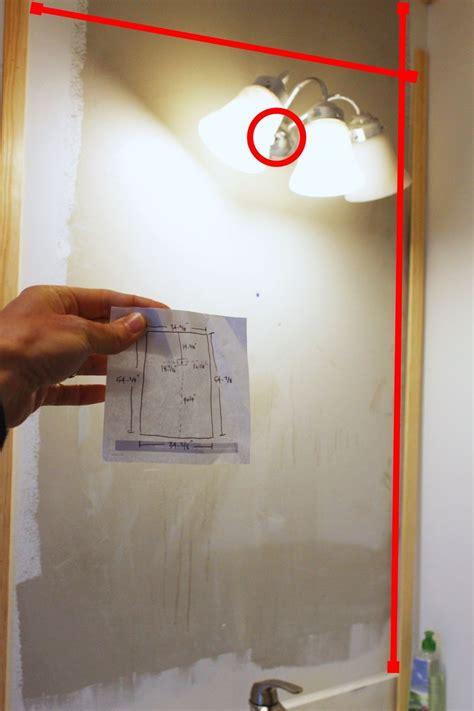 professionally install  bathroom mirror