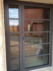 Porte Entree Vitree : installation de porte d 39 entr e en aluminium vitr e sanary ~ Dode.kayakingforconservation.com Idées de Décoration