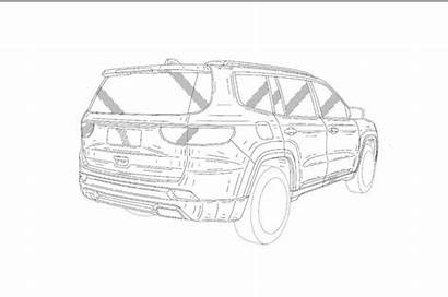 Jeep Suv Drawings Three Creta Row India
