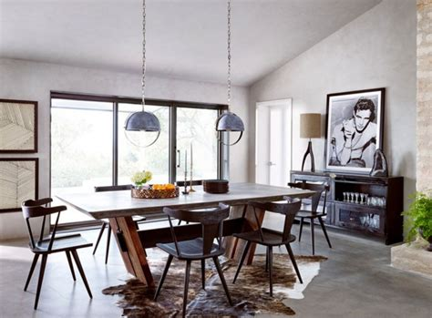 fascinating masculine dining room designs