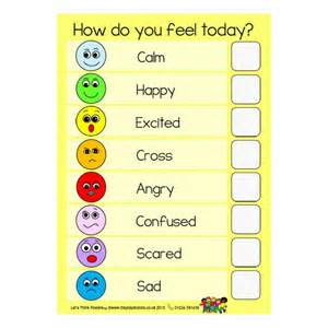 Emotions How Do You Feel Today