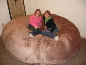 huge bean bag chair lovesac love sac comfy sack fombag