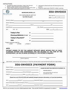 iou form template invitation templates i o u forms With iou letter template