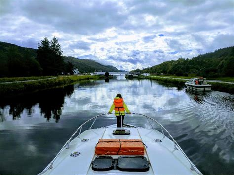 Loch Ness Canal Boat Hire by Caledonian Canal Loch Ness Boat Hire Le Boat