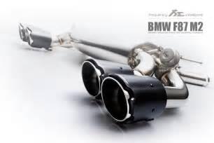 bmw m2 f87 n55 m power valvetronic exhaust system fi exhaust