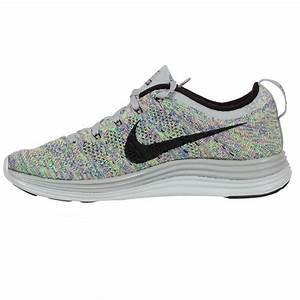 Nike Flyknit Lunar 1+ Women's Running Shoe Grey