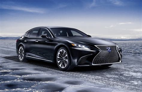 lexus hybrid 2018 lexus ls 500h hybrid revealed offers ev mode up to