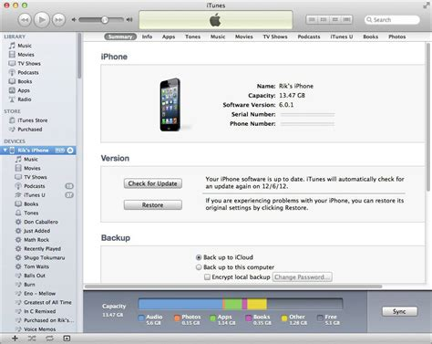 how to sync from iphone to itunes software questions answers
