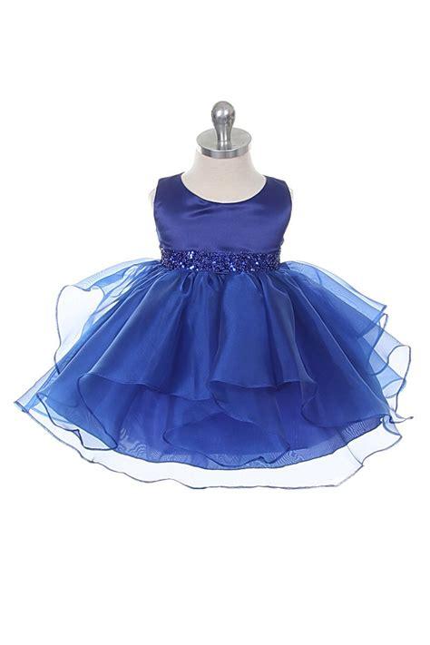 cbryb girls dress style  royal blue sleeveless
