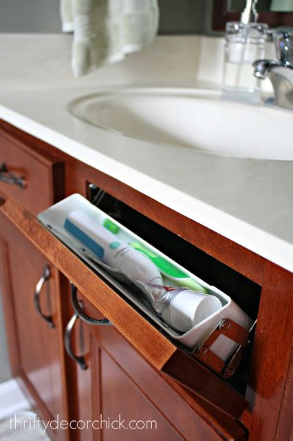 kitchen sink tip out tray my favorite storage in the kitchen from thrifty 8551